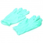 WS10019 Professional Tattoo Gloves - Green (Size M / 100 PCS)