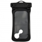 WP-360 Protective Waterproof Bag Case w/ Armband + Strap for Iphone 5 / Iphone 4S / 4 / 3G - Black