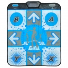 NH-TW002 Electronic Single Person Dance Pad / Mat Controller for Wii - Blue + White + Black