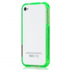 Protective Plastic Bumper Frame for Iphone 4 / Iphone 4S - Green