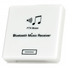 Mini Wireless Bluetooth V2.0 Music Receiver for iPhone Sound Dock - White