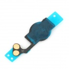 Replacement Home Button Flex Cable for Iphone 5 - Black