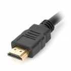 HDMI Male to Female Cable - Black (32cm)