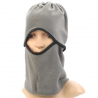 INBIKE IA902 Multi-Functional Outdoor Fleeces Windproof Neck Warmer Mask Scarf / Hat - Grey