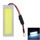 WHD3628 BA9S / T10 / Festoon 4W 200lm 36-SMD LED White Light Car Roof / Combination Rear Lamp (12V)