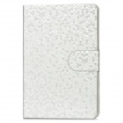 Protective PU Leather Flip-Open Smart Case for Ipad MINI - Silver
