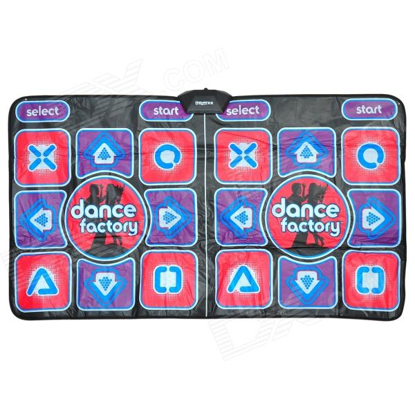 XW-SR-TV Multi-function Computer / TV Fitness Sport Two-person Dance Pad / Mat - Multi-colored