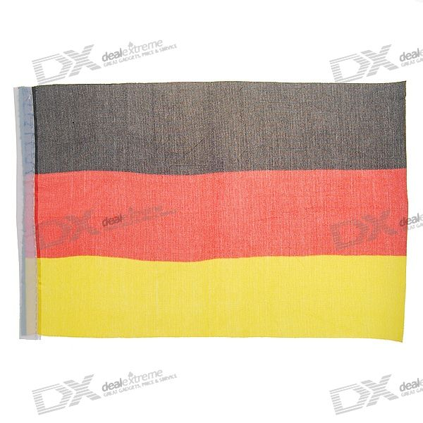 Flag of Germany - 21.5cm Size (2-Pack)