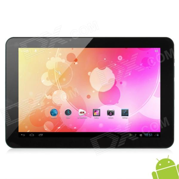 "Tablet PC Quad Core Android 4.1 Tela Capacitiva 10.1"" c/ Wi-Fi / Câmera ICOO ICOU10GT – Café"