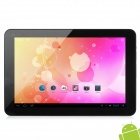 "ICOO ICOU10GT 10.1"" Capacitive Screen Android 4.1 Quad Core Tablet PC w/ Wi-Fi / Camera - Coffee"