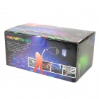 Nightsun HQA020 E27 13W 50lm 5000K 3-LED RGB Light Home Party Light / Stage Lamp - White (100~240V)