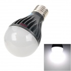 E5-Lighting TQP-8CW E27 8W 700lm 6000K Dimming White Light LED Bulb - Deep Grey + Black