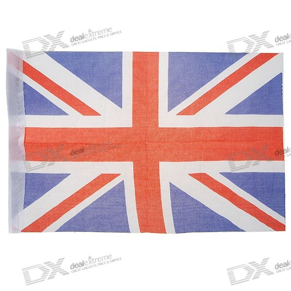 Flag of England - 21.5cm Size (2-Pack)