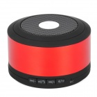 M8 Multimedia Bluetooth 3.0 Wireless Speaker w/ TF Slot / Microphone for Smartphone - Red + Black