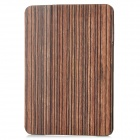 Wood Grain Pattern Protective PU Leather Case for Ipad MINI - Coffee