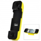 Multi-function Handset Speaker Holder for iPhone 5 - Yellow + Black