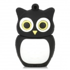 Owl Style USB 2.0 Flash Drive - Black + White (16GB)