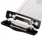 Universal Waterproof Protective PVC Bag w/ Armband / Strap for Iphone 4 / 4S / 5 - White + Black