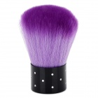 Professional Nail Dusting Brush - Purple + White + Black