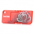 SanDisk SDCZ53-008G-Z35CNY Flower Pattern USB 2.0 Flash Drive - Red (8GB)