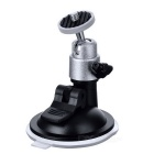 LSON LLH65A-CY Car Suction Cup Mount Holder for GPS / DVR / Camera - Black + Silver