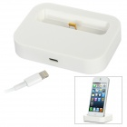 Charging Dock + USB Male to Lightning 8-Pin Male Data Cable for iPhone 5 / iPod Touch 5