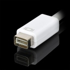 Mini DVI Male to VGA Female Data Cable - White + Grey (14cm)