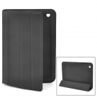 Protective PU Leather Case w/ Smart Cover for iPad Mini - Black