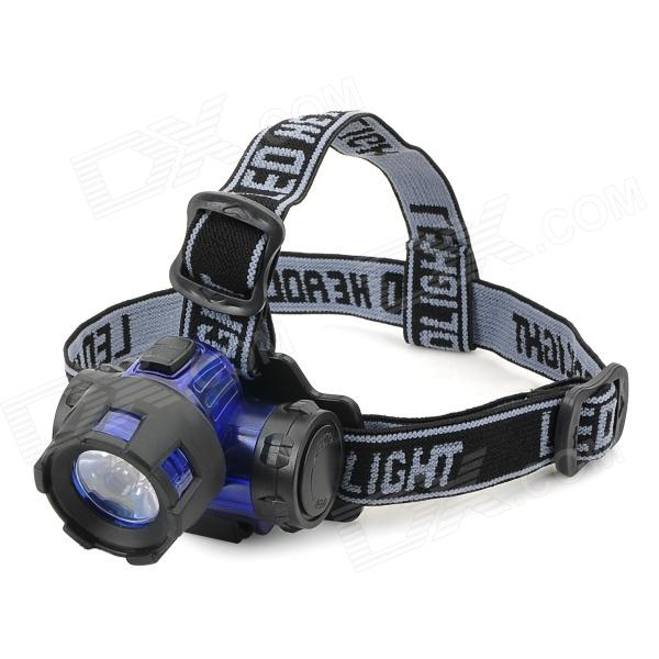 LiLiANG 6617 3W LED 150lm White Headlamp - Blue + Black (3 x AAA)