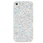 Stylish Protective Bling Bling Plastic Back for Iphone 5 - Silver