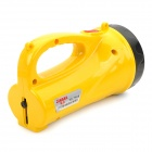TD-7500 12-LED 60lm 2-Mode White Rechargeable Searchlight Flashlight - Yellow + Black