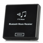 Wireless Bluetooth Audio Receiver for iPhone / iPod - Black