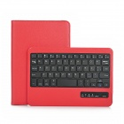 K360 Bluetooth V3.0 59-Key Keyboard for Ipad MINI - Red