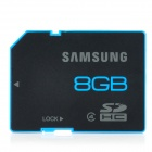 Genuine Samsung MB-SS8GB CLASS 4 Micro SDHC Card - Black + Blue (8GB)