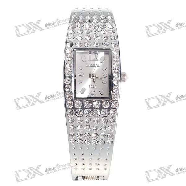 Valentine's Day Gift - Stainless Steel Lady's Bracelet Quartz Watch