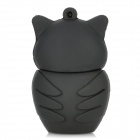 Cute Owl Estilo USB 2.0 Flash Drive - Preto + Branco (4GB)