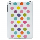 Polka Dot Pattern Protective Plastic Back Case for Ipad MINI - Multicolor