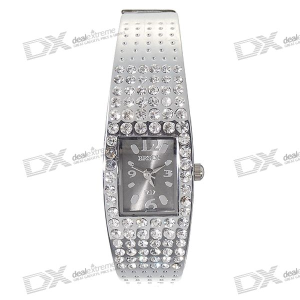 Valentine's Day Gift - Stainless Steel Lady's Bracelet Watch