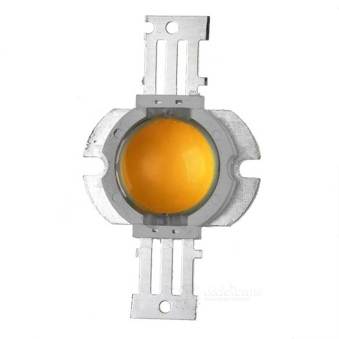 10W 900lm 3000K Warm White Round Shaped COB LED Light - Yellow + Silver + White (9~11V)Leds<br>Model6271MaterialPlasticMaterialPlasticForm  ColorWhiteQuantity1TotalPower10Color BINWhiteRate Voltage9~11Emitter TypeLEDTotal Emitters9Power10Color Temperature3000KPacking List<br>