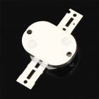 DIY 10W 500LM Red Light Round Shaped Integrated LED Module - Silver + White (DC 6~8V)