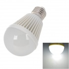 E27 490lm 6500K 30-Epistar SMD 2835 LED White Light Bulb - White