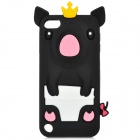 Crown Pig Style Protective Silicone Case for iPod Touch 5