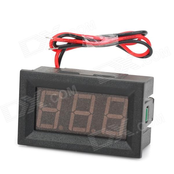 V27D Digital Display Voltmeter Module for Electric Car - Black (DC 4.5~150V)DIY Parts &amp; Components<br>ModelV27DQuantity1ColorBlackMaterialPlasticQuantity1ColorBlackMaterialPlasticForm  ColorBlackMaterialPlasticEnglish Manual / SpecYesPacking List<br>