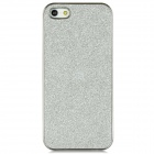 Electroplating Glitter Effect PC Back Case for Iphone 5 - Silver