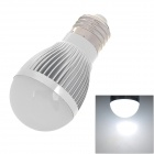E27 3W 270~300lm 6000K 9-SMD 3528 Cold White Light Bulb