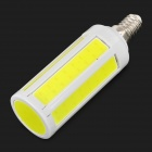 7046 E14 7W 600~700lm 7000K LED White Light Bulb - Yellow + White