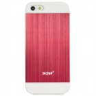 IPSKY Cool Style Detachable Back Case for Iphone 5 / 5s - White + Red