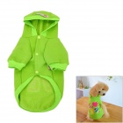 """Love"" Pattern Cotton Pet Dog's Clothes - Green"