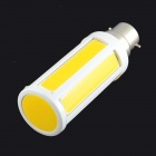 Corn Style B22 7W 700lm 3200K 1-LED Warm White Light Bulb - Orange + White (AC 160~240V)