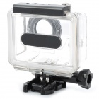 PANNOVO Side Opening Protective Case for GoPro / GoPro HD Hero2 - Black + Transparent